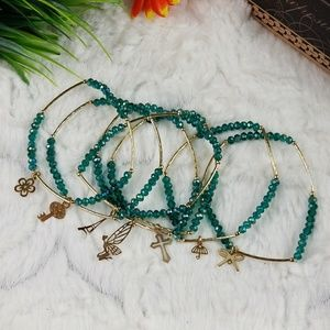 Jewelry - Turquoise Gold Plated Mexican Semanario